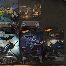 Hot wheels batman 車 5款