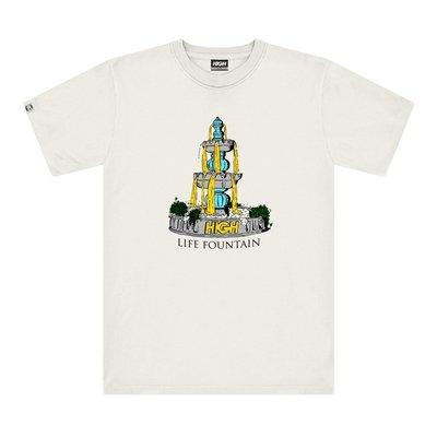 High Company - The Foutain Tee White 白色 短TEE 現貨販售