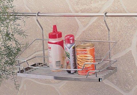 ☆成志金屬☆#304不鏽鋼調味料罐架S-400-2A,瓶罐架,廚房調味罐置物架,掛桿可用
