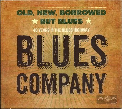 【進口版】舊的、新的、借來的只是藍調 Old,New,Borrowed But Blues/藍調公司-INAK9145