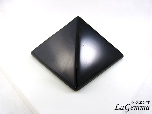 ☆寶峻晶石館☆新貨到~能量塔 黑曜石金字塔 提高正能量 4cm