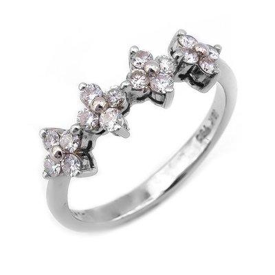 【JHT 金宏總珠寶/GIA鑽石專賣】0.43ct天然鑽石造型戒/材質:18K/(D000182)
