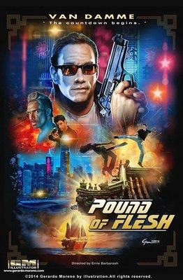 【藍光電影】BD50 2D 致命追擊2015 Pound of Flesh 2015 評分4.9 122-027