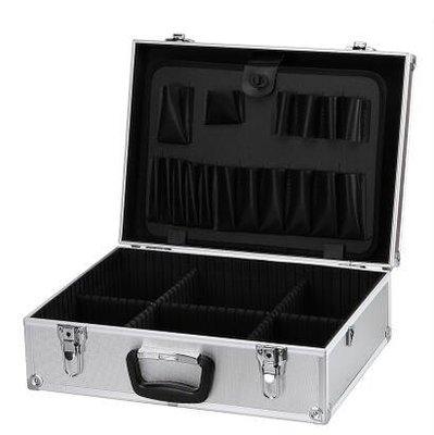 {興達1821}鋁合金工具箱帶鎖箱子手提箱紋繡箱五金收納箱 多功能電工箱TCQ