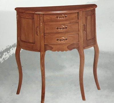 ☆[新荷手作]KL8402☆仿古式柚木玄關桌 中國式 實木桌 法式 櫥窗展示品