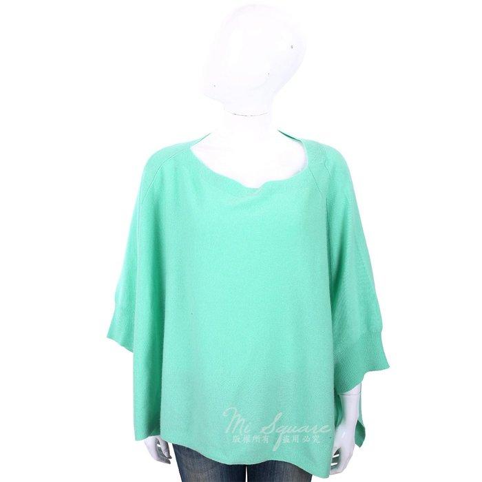 米蘭廣場 ALLUDE 喀什米爾綠色斗篷式針織羊毛衫1740247-08
