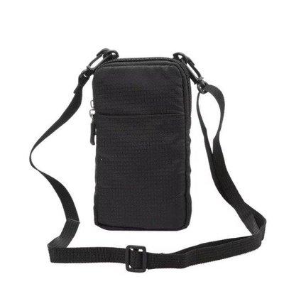 ZIHOPE 華為P10 PLUS男女款掛脖掛胸斜跨拉錬殼腰掛榮耀8手機包NOVA袋子ZI812
