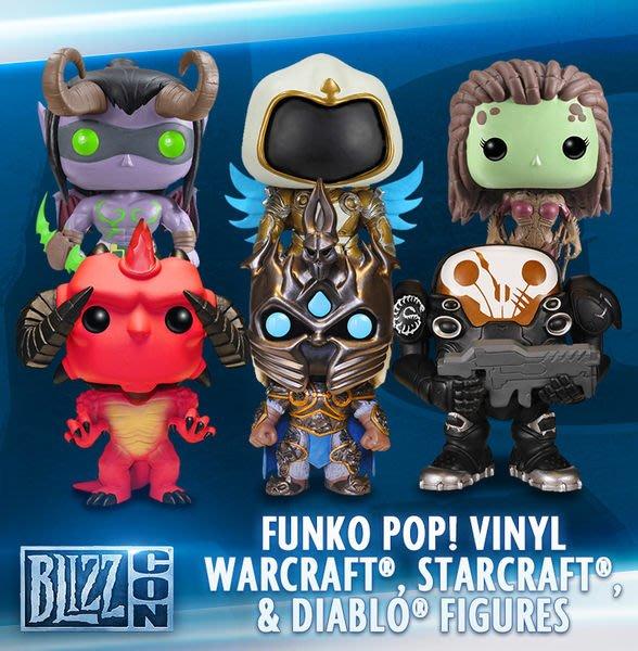 尼德斯Nydus~* 美國暴雪 Blizzard Blizzcon 紀念公仔 Wow Diablo 魔獸世界 整組賣