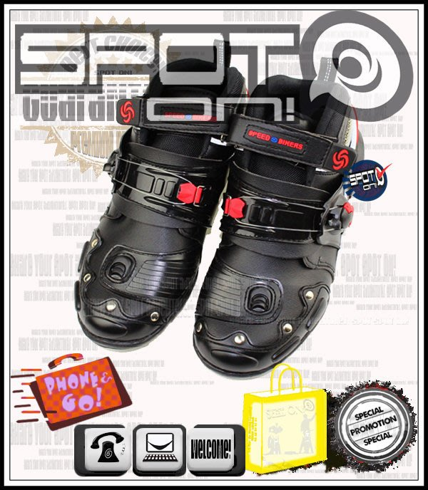 Spot ON - PRO BIKER A9002 款短車靴 , 全Size 大size 大尺碼! SM250 VJR