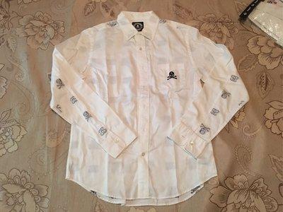 『D Fashion』Stussy X Mastermind JAPAN MMJ Shirt 骷髏長袖襯衫 日本製