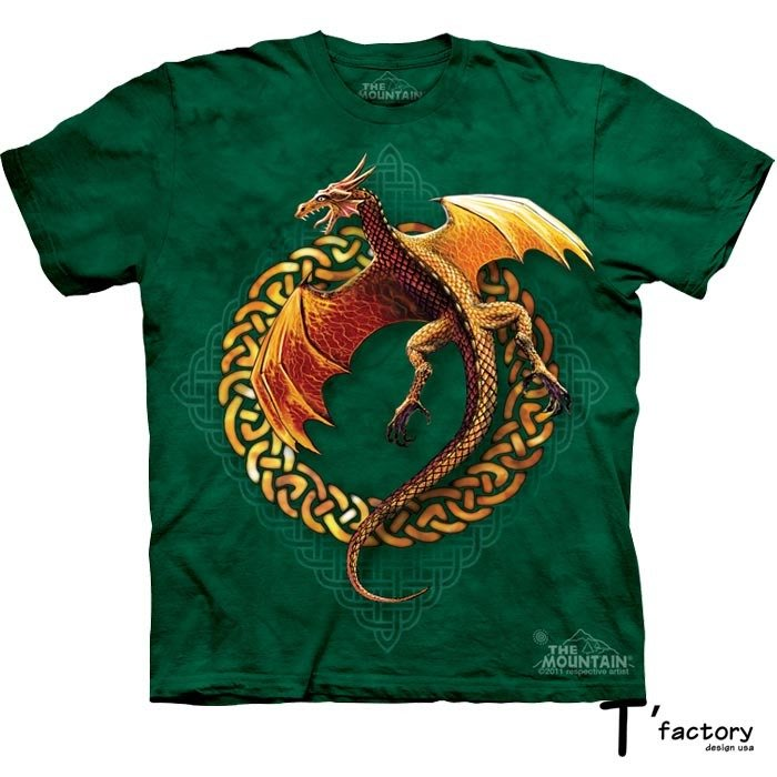 【線上體育】The Mountain 短袖T恤 L號 龍騰