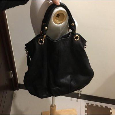 *舊愛二手* Rabeanco 黑色 精品 品牌 專櫃 女包 包包 大包 側背包 肩背包 斜背包 真皮 皮革