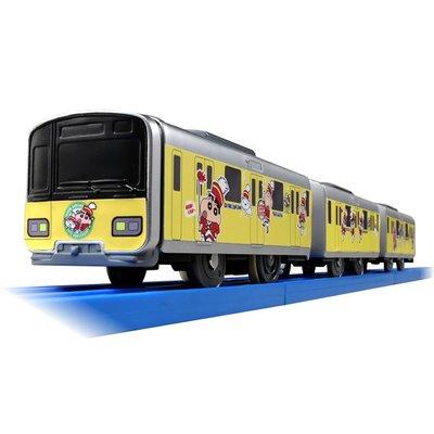 Takara Tomy 蠟筆小新 主題火車 電動 Plarail SC-08 Tobu Type 50050 Crayon Shin-chan #113935