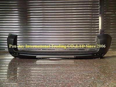 ※寶捷國際※ TOYOTA RAV4 2008 原廠型 後保桿 [有輪弧孔] 台灣製造