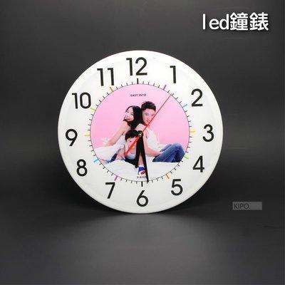 可買成品 LED鐘錶燈箱特殊訂製款 廣告牌 節能環保 圓形工藝品 胸章機 胸章耗材50個起