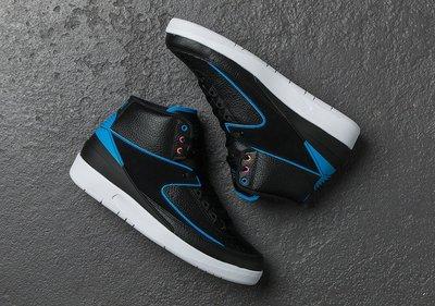 Nike Air Jordan 2 retro Radio Raheem 834274-014 AJ-2 喬丹跳跳人黑藍