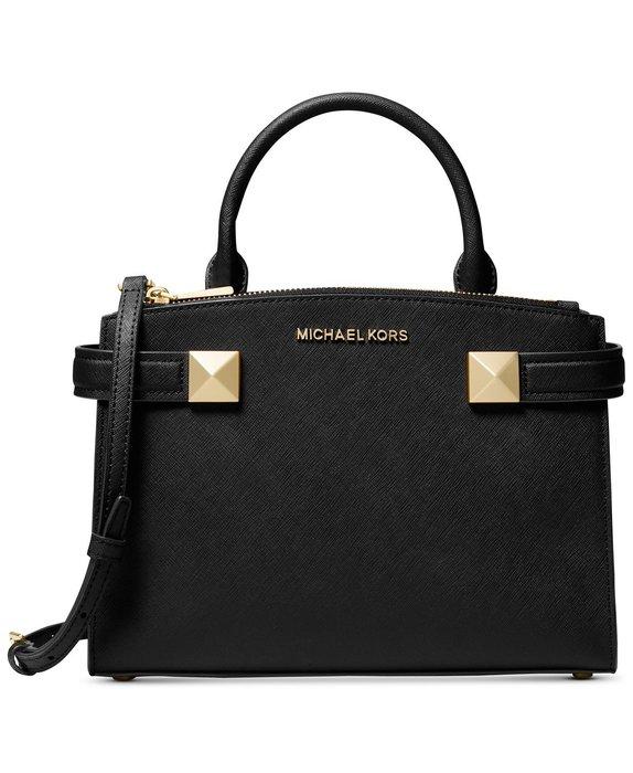 美國名牌Michael Kors Karla Satchel 專櫃款皮革手提/斜背包(小款)現貨在美特價$4980含郵