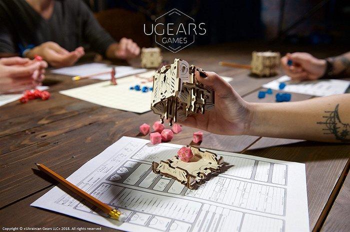 UGEARS 機械桌遊系列- 命運之塔 烏克蘭製造 桌遊配件