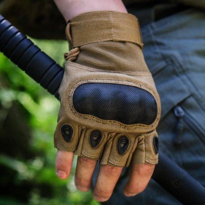 防割手套 軍迷特種兵黑鷹戰術手套男半指防割格鬥防身511作戰手套07a內手套