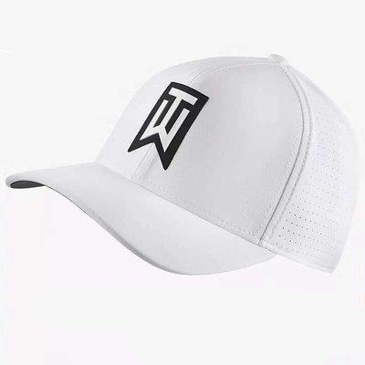 戶外用具高爾夫高爾夫球帽 Nike耐克TW老虎伍茲款太陽帽子 球帽輕薄透氣舒適夏季