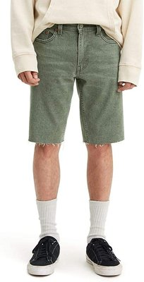 【彈性29-44腰優惠】美國LEVI S 511 SLIM CUT-OFF SHORTS Cotija 仿舊窄管牛仔短褲