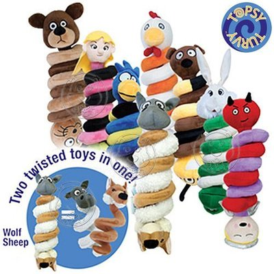 【🐱🐶培菓寵物48H出貨🐰🐹】美國 Topsy Turvy《扭轉樂》8種寓言故事組合的逗趣玩具 特價320元