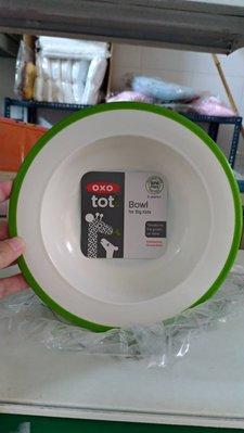 [小寶的媽] 美國OXO txt Bowl for Big Kids (大童用餐碗 兒童餐具) 綠色款