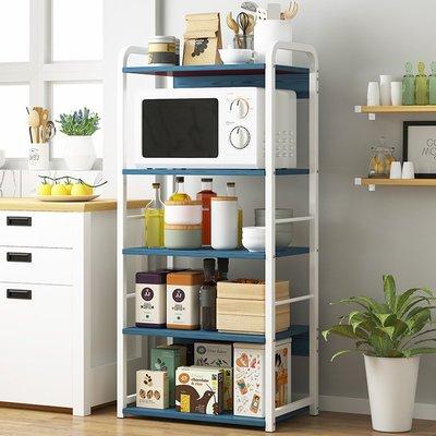 多層微波爐架廚房置物架落地多層收納架烤箱鍋碗架儲物架置物柜子