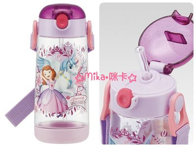 ☆Mika☆ 日本正版 迪士尼 蘇菲亞公主 透明 吸管 冷水壺 水壺 480ml 530含運vEx
