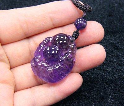 【小熊水晶窩】馬紫!天然嬌紫透亮 紫水...