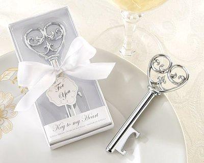 【氣球批發廣場】精美婚禮小物 白盒心型鑰匙開瓶器 畢業禮物 情人節 抽獎 來店禮 滿額送伴郎伴娘禮 贈品