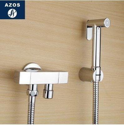 【優上】德國 增壓手持花灑婦洗器淋浴噴頭 馬桶閥水龍頭「A套裝」