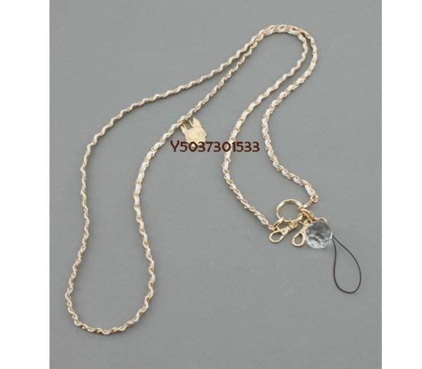 ⊙大眼妹的柑仔店⊙garcia-style狗頭包Crystal Ball Hippie白色手機鏈吊飾/皮夾鏈/小包鏈