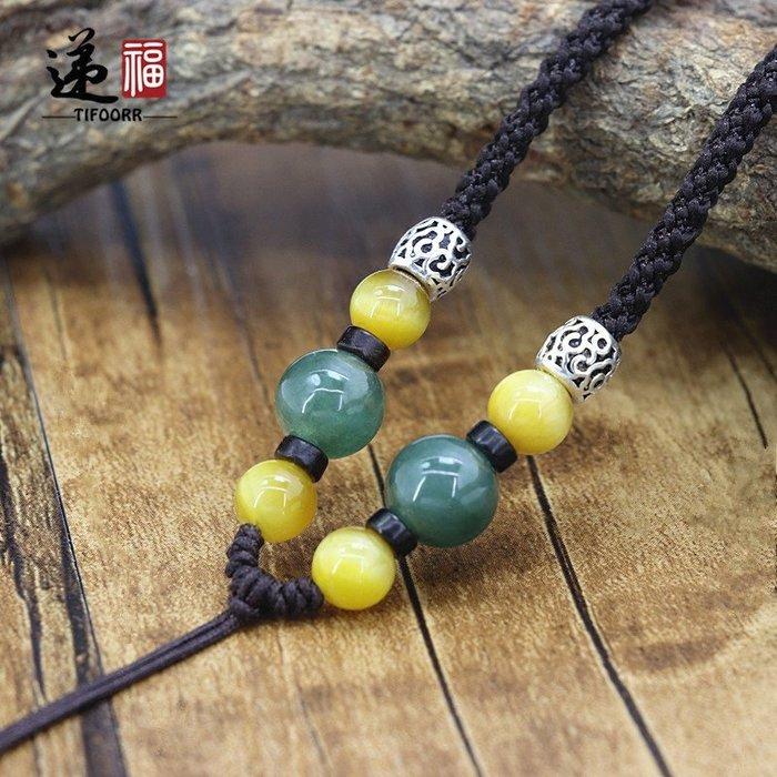 衣萊時尚-TIFOORR/遞福新品手工掛繩項鏈繩毛衣鏈繩可調節吊墜繩長款繩子