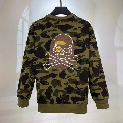 A Bathing Ape VS Mastermind Crewneck Bape衛衣