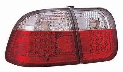 新店【阿勇的店】CIVIC 96-98 改款前 K8 4D 4門 白紅晶鑽版 LED尾燈 k8 尾燈