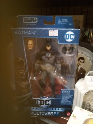 Lex Luthor DC Batman w/Box