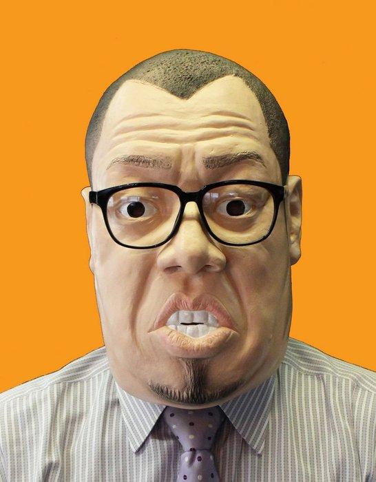 【beibai不錯買】派對道具 變裝 搞笑面具 整人玩具 日本手製 日本進口 野性爆弾 酷奇面具