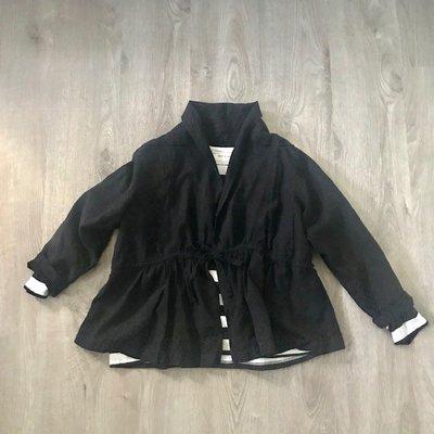 現貨 日本質感品牌 nest robe 大人感 重磅麻質 綁帶罩衫 小外套 日本製