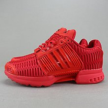 D-BOX  adidas originals CLIMA COOL 1 男鞋 慢跑鞋 網面 緩震 紅色