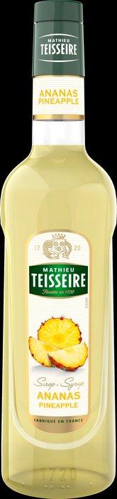 Teisseire 糖漿果露-鳳梨風味 Pineapple Syrup 法國頂級天然糖漿 700ml-【良鎂咖啡精品館】