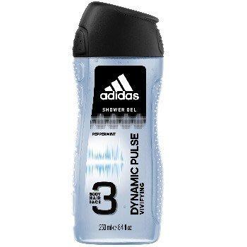 Adidas 愛迪達 男用三效潔顏洗髮沐浴露-青春活力 250ml《四季花蕊》