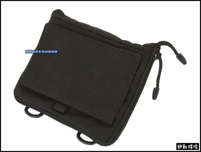 【野戰搖滾-生存遊戲】多功能低調整理包、工具包【黑色】醫療包腰包雜物包迷彩包勤務包野外求生包