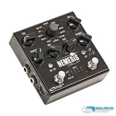 SOURCE AUDIO NEMESIS Delay 復仇女神 延遲效果器 (含電供) 24種 DEALY 音色引擎 