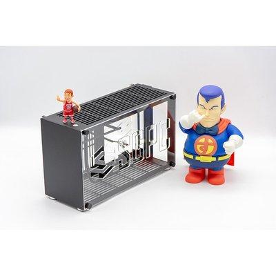 迷你機殼k55/i5 i7/2060 2080Ti鋁合金A4 ITX游戲電腦小機箱 鋁側板