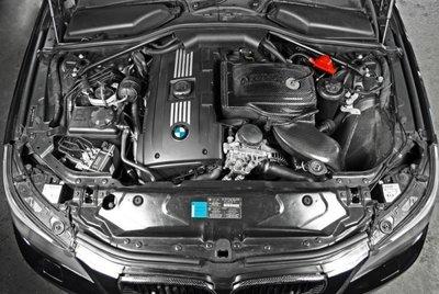 CS車宮車業 ARMA 碳纖維 集氣罩 進氣系統 BMW E60/E61 535i 08-10