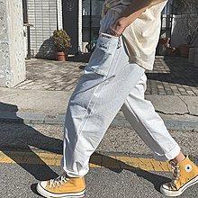 i-Mini 正韓|方口袋小標籤鬆緊腰圍休閒褲|3色‧ 韓國連線‧代購‧空運【02172830LY】