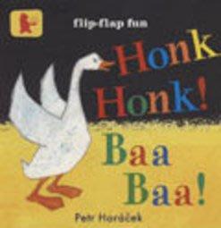 *小貝比的家*HONK HONK! BAA BAA! /硬頁