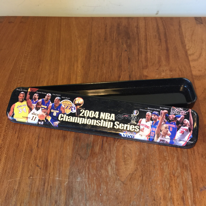 2004年 NBA總冠軍賽鉛筆盒