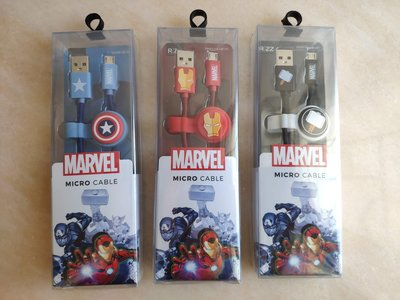 Marvel Micro Cable 手機 充電線